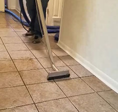 Jeff's Carpet Cleaning cleans tile floors and grout. Serving north and northeast Texas Including Greenville.